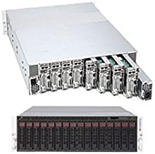 Supermicro MicroCloud 5037MR-H8TRF Barebone System - 3U Rack-mountable - Intel C602J Chipset - Socket R LGA-2011 - 128 GB Maximum RAM Support - Serial ATA/600 RAID Supported Controller - Matrox G200eW Graphics Integrated - 2 x Total Bays - 2 x Total Expans