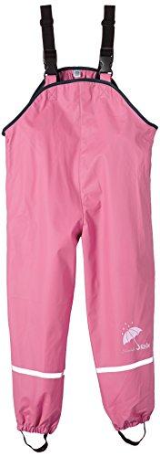 Sterntaler Mädchen Regenträgerhose ungefüttert Regenhose, Pink 744 (New Hortensie), 122