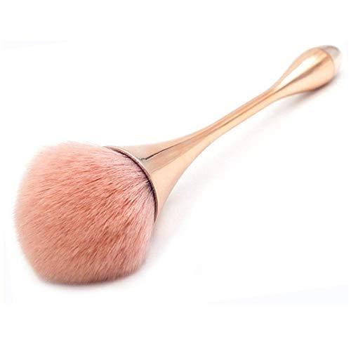 Pinceau à fond de teint / pinceau à blush / grand pinceau à poudre minérale pour estomper liquide, crème ou poudre sans défaut - Pour polissage, correcteur, maquillage quotidien, Nail Art