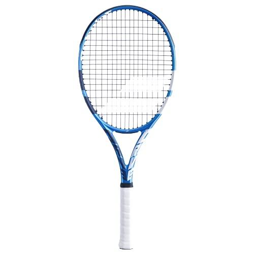 Babolat EVO Drive Strung - Raqueta de Tenis para Adulto, Unisex, 136-azul, tamaño de Agarre: 4