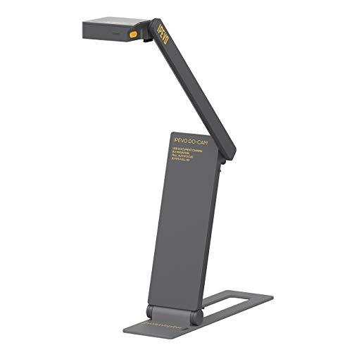 Ipevo DO-CAM Tragbar & Kompakt Ultra-HD 8 MP USB-Kamera für professionelle visuelle Präsentationen und Kommunikation – Echtzeit-Bildaufnahmegerät für Fernunterricht/-Arbeit, Webcam für Videoanruf.