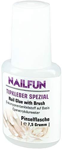 NAILFUN 1 Boccetta di Colla 7,5 g per Unghie Finte