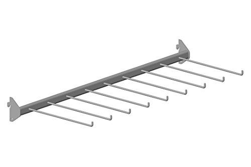 Home System 66965Hosen-Bar, Aluminium