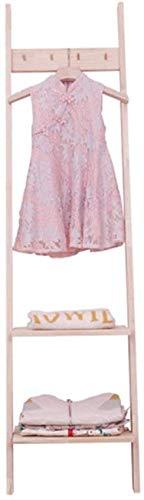 Gimitunus kledingrek, kleding, wasdroger, jurk, kinder-up, kledingkast (kleur: kleur, maat: 160 x 60 cm) 8bayfa 160x40cm Kleur: zwart/bruin,