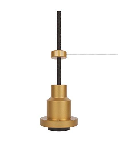 Osram Vintage Edition 1906 Pendulum, gold, E27 - Fassung, Deckenleuchte, flexibles Zugseilsystem, P20, Gehäuse aus Aluminium