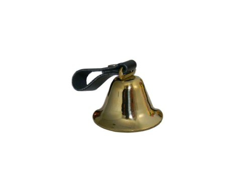 Pete Rickard DD685 Deluxe Brass Dog Bell