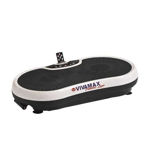 Vivamax Unisex– Erwachsene GYVF14 Vibrationstrainer, schwarz-weiß, 800x475x165mm