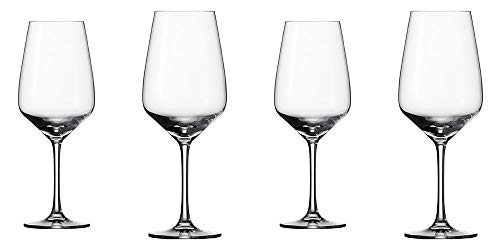 vivo by Villeroy & Boch Group - Voice Basic Set di bicchieri da vino rosso, 4 pezzi, 497 ml, bicchiere in cristallo, trasparente, lavabile in lavastoviglie