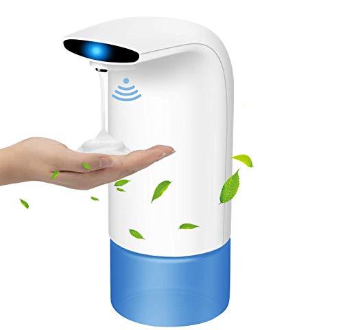 Wimaha Seifenspender Automatisch mit Sensor Infrarot Seifenspender mit Wasserdichter Basis, Schaumseife, Spülmittel, Handdesinfektionsmittel für Badezimmer, Küche und Büro