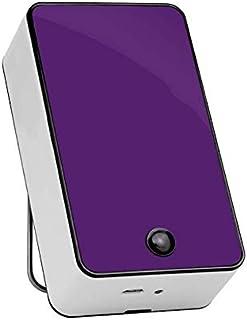 Mini Aire Acondicionado de Mano USB/Mini Aire Acondicionado/radiador portátil con plástico ABS, Aire Acondicionado y Ventilador, Dos Modos comunes,Purple