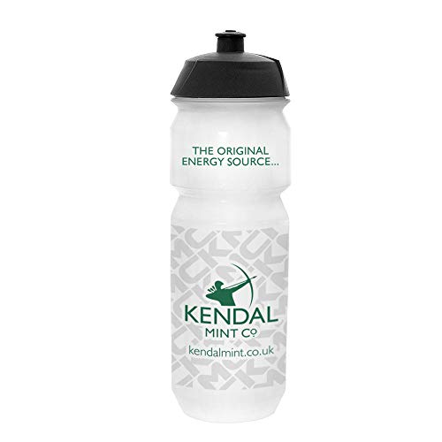 Kendal Mint Co. Biodegradable Premium Squeeze Drinks Bottle 750ml Clear Cycling Running football bike leak proof (1 of)
