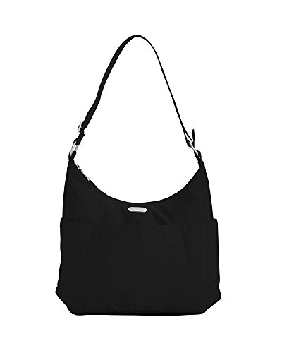 Baggallini Luggage Hobo Classic Hobo Style Tote, Black, One Size