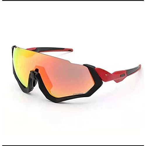 CYYS Gafas de Sol de Ciclismo de Deportes de Medio Marco, Gafas de Sol de Ciclismo de Gran tamaño polarizado, Gafas de Ciclismo polarizadas de Bicicletas