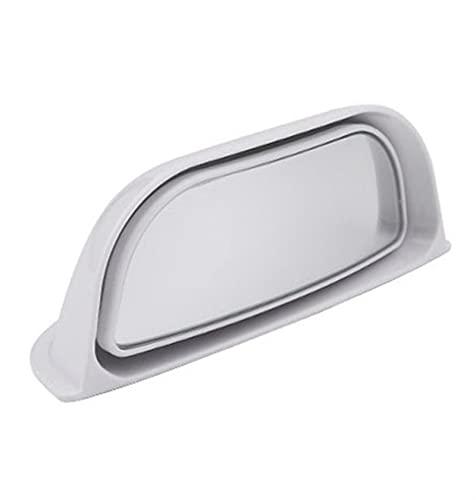 YIYEBAOFU Big HaHa Apto para Coche Vista Trasera Espejo Amplio ángulo Ciego Espejo Espejo b Pilar Asiento Trasero observación Auxiliar Espejo Seguridad de Seguridad Universal (Color : 1PC White)