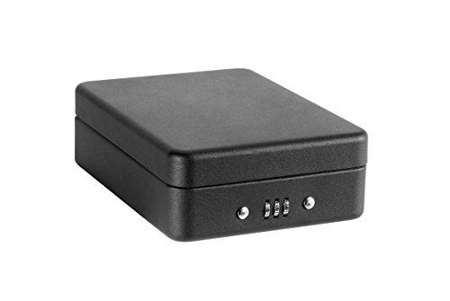 Arregui C9427 Caja De Seguridad Con Cable Para Fijación, Negro