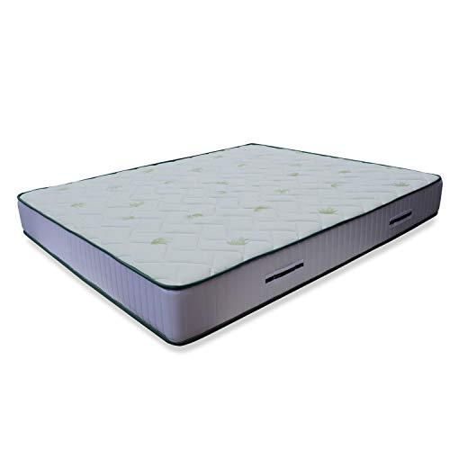 Materasso anatomico LISA H17cm, con accogliente memory Foam e poliuretano, king size 200x200 cm