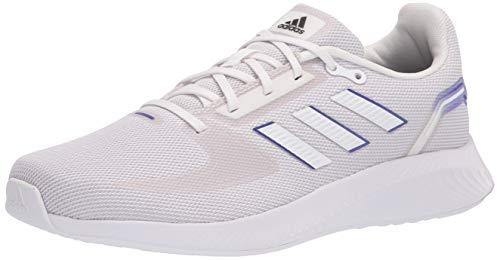 adidas Men's Runfalcon 2.0 Running Shoe, White/White/Semi Night, 10