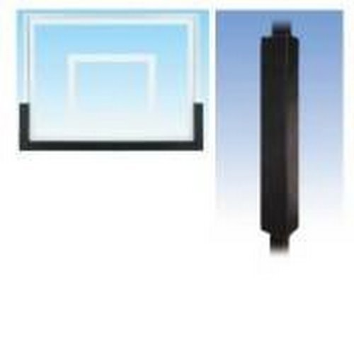 First Team Basketball Padding Package with 72in Backboard Pad and Pole Pad for 6in Square Poles Color: Royal Blue