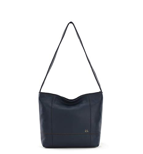The Sak womens Hobo, Indigo, 12in L x 4in W x 10in H; Drop: 14 inches