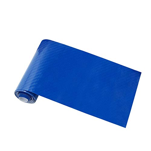 NYSCJJJ 10x152cm Hohe glänzende Kohlefaser Auto Film Wrap Motorrad Auto Vinylfilm DIY 5D Interieur Aufkleber Abziehbilder Zubehör (Color : Blue)
