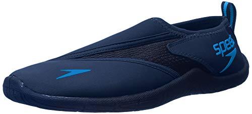 Speedo Men's Surfwalker Pro 3.0 Water Shoes, Navy/Blue, 11