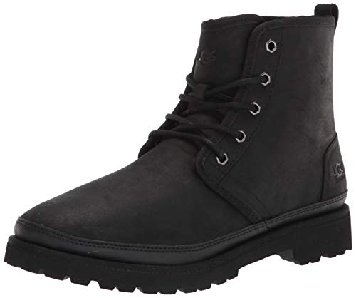 UGG Male Harkland Weather Boot, Black Tnl, 8 (UK)