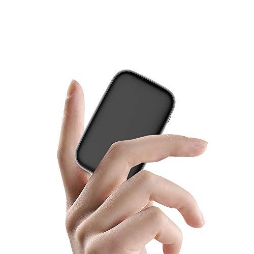 モバイルバッテリー 13000mAh 大容量 軽量 超小型【Type-C入出力/18W急速充電/PD3.0対応/QC3.0対応】持ち運び便利 携帯充電器 PSE認証済 iPhone/iPad/Android対応 ブラック