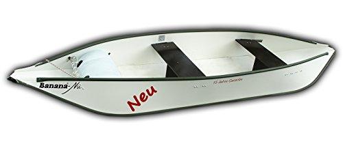 Banana® Faltkanu - Nu Typ 352, weiß, Paddelboot, Faltboot, für 2 Personen - 15 Jahre Garantie