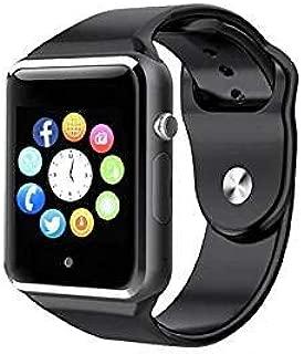 Pcjob Smartwatch A1 Bluetooth Negro con SIM gsm, Reloj con ...