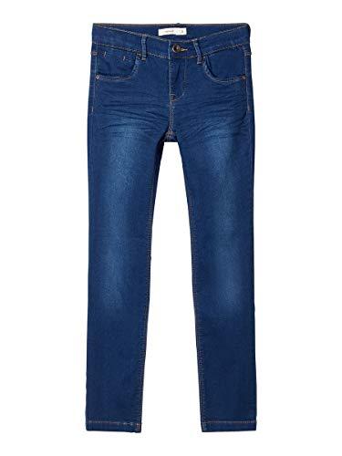 NAME IT Girl Jeans Powerstretch Sweatdenim Slim Fit 122Dark Blue Denim