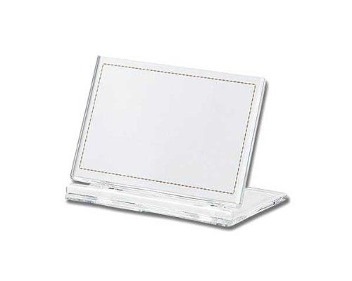 光 カード立て 透明 50×80mm 00872522-1 UC2-1