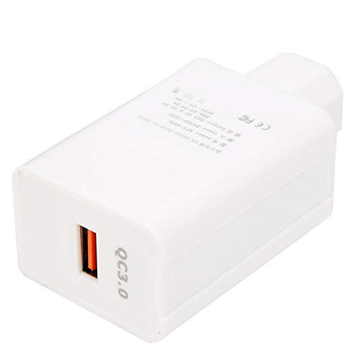 SALUTUYA Cargador de Coche de Carga rápida Cargador de Coche con Puerto USB de Alta eficiencia, Adecuado para teléfono de 5 V, Altavoz, lámpara LED