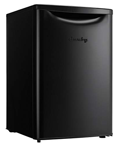 Danby Contemporary Classic DAR026A2BDB-6 2.6 Cu.Ft. Mini Fridge, Free-Standing Compact Refrigerator