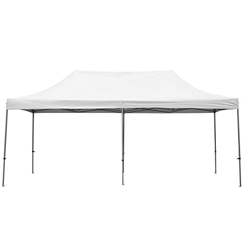 GDY 10x20 Feet Pop Up Outdoor Canopy Tent, Commercial Instant Gazebos, Portable Party Canopies