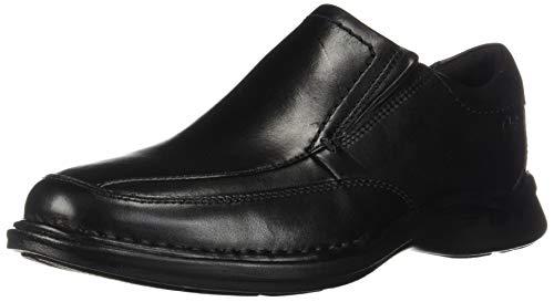 Clarks Men's Kempton Free Loafer, Black Leather, 115 W US