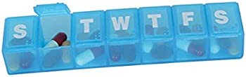 Ezy Dose 7-day Pill/Medicine Travel Organizer Box