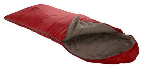 Grand Canyon UTAH 150 KIDS coperta sacco a pelo UTAH 150 KIDS - sacco a pelo Premium per campeggio all'aperto - per bambini - Dalia Rossa