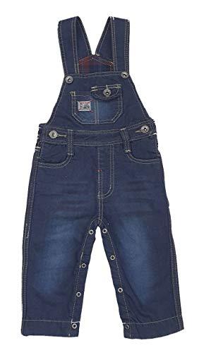 BOY&STUDIO Thermo Jeans Latzhose in dunkel Blau, Gr. 9-12 Monate, J3025