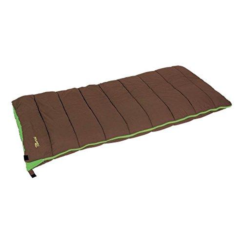 Bertoni - Sleep - Sac de Couchage, intérieur 100% Coton, extérieur 100% Coton, Marron