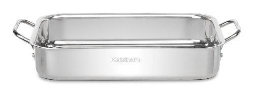 Cuisinart 7117-135 Chef's Classic Stainless 13-½-Inch Lasagna Pan