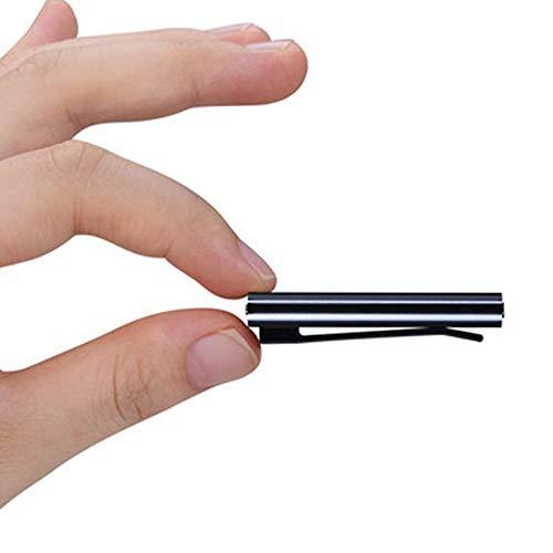 T-XYD Mini inspelningspenna osynlig inspelare stark magnetisk adsorption tydlig brusreducering en nyckel HD-inspelning 8 GB- 32 GB företagsformat möte, 16 GB