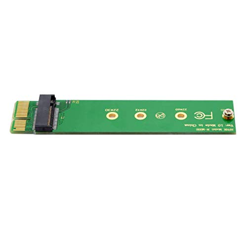 CY NGFF M-Key NVME AHCI SSD to PCI-E 3.0 1x x1 Vertical Adapter for XP941 SM951 PM951 960 EVO SSD