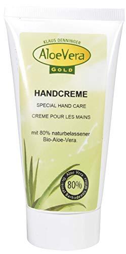 Aloë Vera Gold Handcrème Tube, 2 stuks (2 x 75 ml)