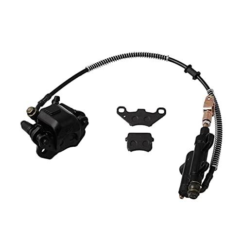 XIXI-Home Ajuste de la calibradora del Cilindro Maestro del Freno Trasero Ajuste para ATV Quad 50cc-125cc Reemplazo Directo