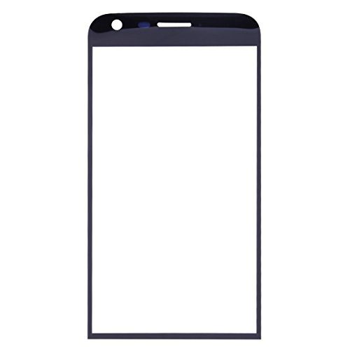 CHEZHAN -Front Screen Outer Glass Lens for LG G5 (Black) Super Clear Film