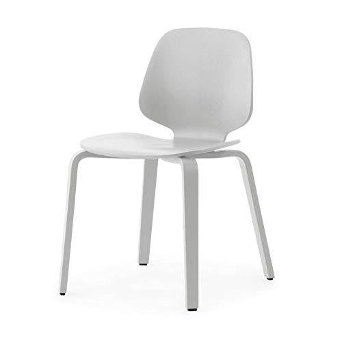 Normann Copenhagen My Chair Wood Stuhl 48 x 50 cm - weiß