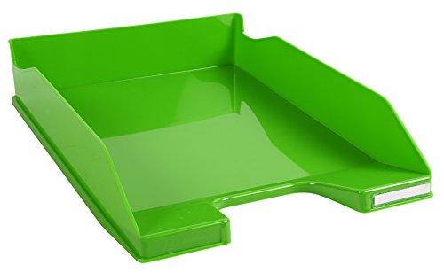 Exacompta Iderama - Bandeja de correo, color verde manzana glossy