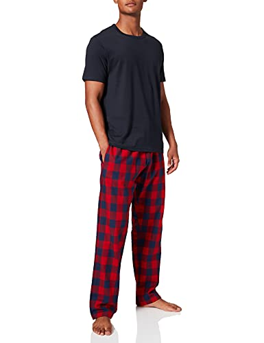 Celio PIXKAFEL Pajama Set, Red, XL Mens