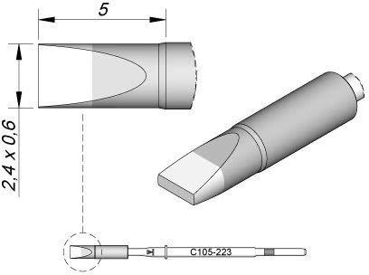 Jbc - Punta de soldador para Nano C105223