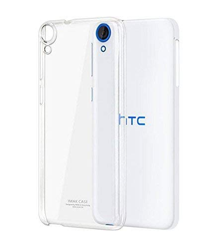 AA19® Ultra Thin Soft Silicone Transparent Flexible Back Case Cover for HTC Desire 820